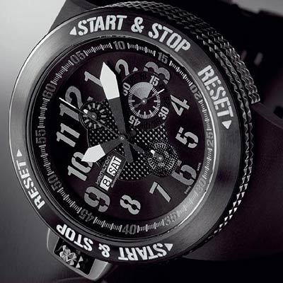 Khaki BASE Jump Auto Chrono