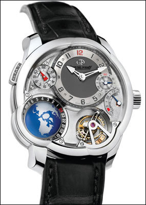 Часы Greubel Forsey GMT Tourbillon